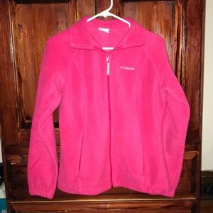 Pink Columbia Full Zip Fleece Jacket
